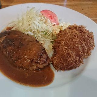 ハンバーグ・メンチカツ(洋食工房 ジェンコ )