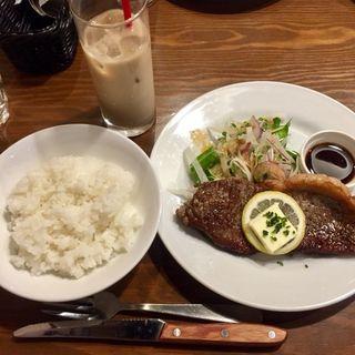 サーロインステーキ(ビストロ・タケノヤ 吉塚店)