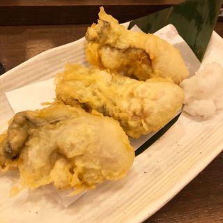 岩牡蠣の天ぷら(肴屋八兵衛 金山店 (【旧店名】魚椿))