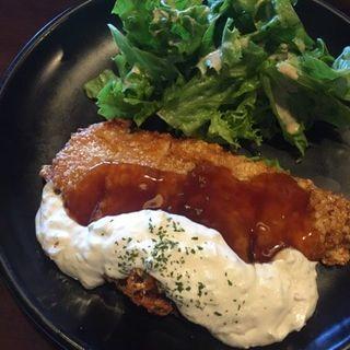 チキン南蛮定食(珈琲 豆三郎 )