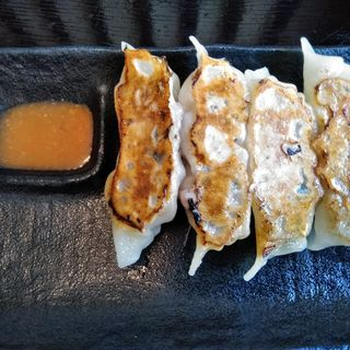 ジャンボ餃子(麺処 松。)