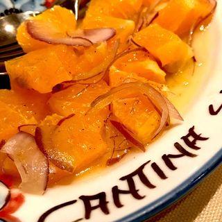 オレンジのサラダ(カンティーナ シチリアーナ (CANTINA SICILIANA))