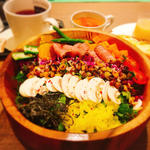 ローストビーフ&雑穀米サラダランチ