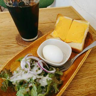 ハムチーズトーストセット(カフェサザンマーケット)