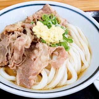 肉ぶっかけ冷(こがね製麺所 高松木太店)