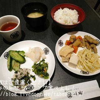 朝ごはん(竈炊き立てごはん 土井 京都駅八条口店)