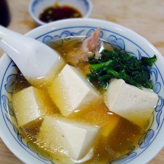 鳥豆腐(大衆割烹 三州屋 銀座店)