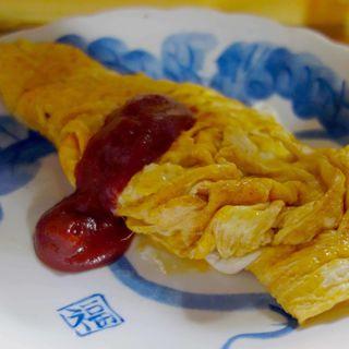 チーズオムレツ(江戸政 )