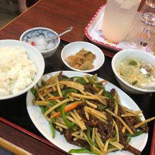 青椒肉絲(高華楼 )
