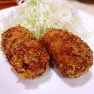 コロッケ定食(瀬戸)