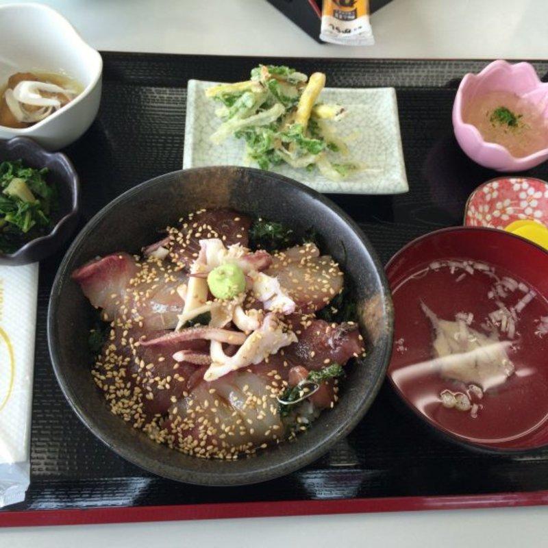 海鮮ヅケ丼定食