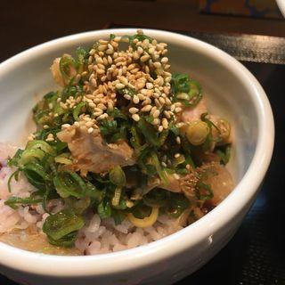 九条ねぎ飯(麺屋玉ぐすく )