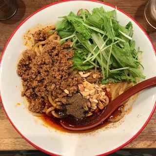 汁なし坦々麺(期間限定)(三田製麺所 新宿西口店 (つけ麺専門店))