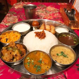 ゴールデンベジミールス(インド料理 MUTHU (ムット))