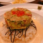 アボカドネギトロ丼(うさぎ)