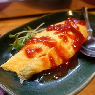 チーズ入りオムレツ(たむら )