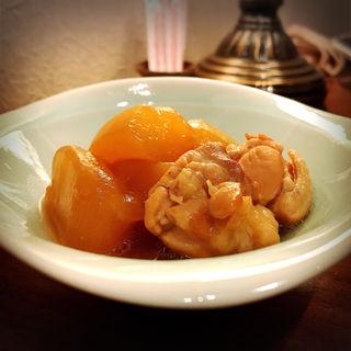 ゆうがおと鶏肉の煮物(SHIRU)