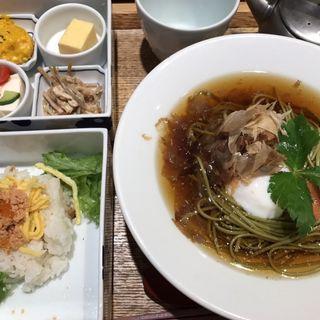 温泉玉子と明太子(chobohan ルミネエスト新宿店)