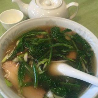 素菜ラーメン(中国料理 養源郷)