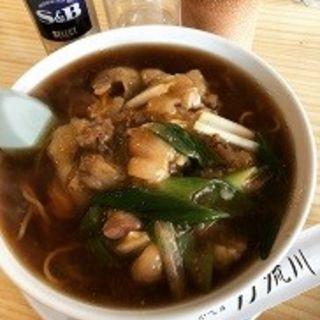 豚足ラーメン(中国料理 沙流川)