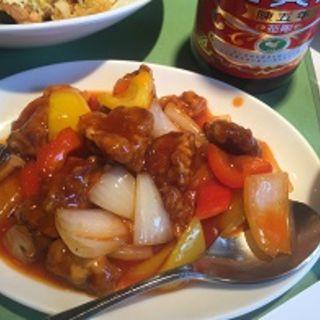 酢豚(中華厨房あんにん 西町店)