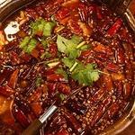 牛肉と野菜の麻辣煮込み(水煮牛肉)
