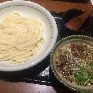 オリーブ牛のつけ麺(うどん棒 大阪本店 (うどんぼう))