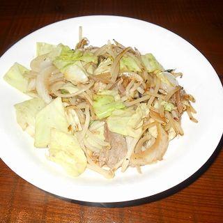 肉野菜炒め(炭火ダイニング 高しま )