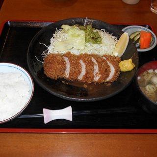特上ヒレかつ定食(とんかつ二条)