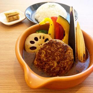 京都ぽーくのスープカレー(土鍋スープカレー 近江屋清右衛門 (Cray pod soup curry Ohmiya Seiuemon) )
