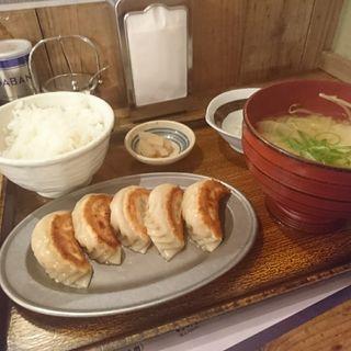 餃子定食(SAPPORO餃子製造所 すすきの店)