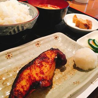 銀鱈みそ焼き定食(里の宿 )
