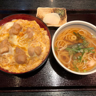 親子丼セット(自家製麺 うさぎや)