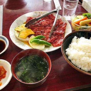 カルビコース(お食事処 じゃんじゃん)