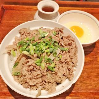牛丼 肉ダブル(BUZEN 麻布十番 (ブゼン))
