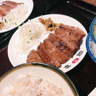 牛たん炭火焼定食(味の牛たん 喜助 横浜ランドマーク店 )