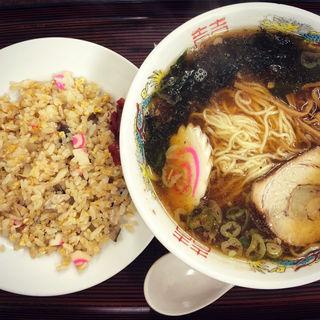 ラーメン半チャーハン(三好弥 )