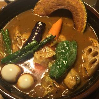 スープカレー チキン(ラマイ 札幌北33条店)