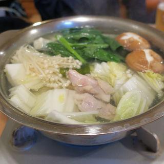 とり水炊き鍋(ちゃんこ鍋井原 )