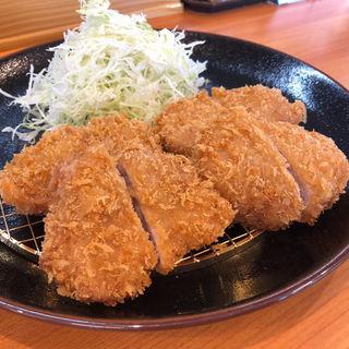 ヒレかつ定食(きんのつる 新宮店)