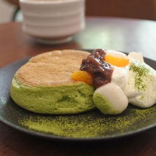 抹茶パンケーキ(OMATCHA SALON 淀屋橋)