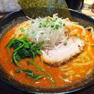 辛味噌ラーメン(北海道らーめん奏)