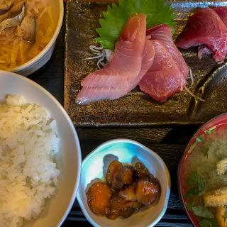 刺身定食(日高 (ひだか))