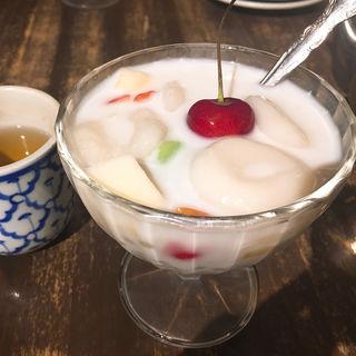 ブアローイ~白玉団子入りココナツミルク煮~ (チャイヤイ (CHAI YAI))