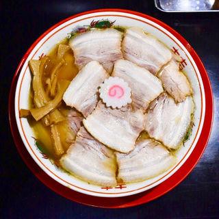 肉煮干し中華そば(さいころ )