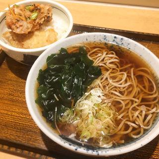 かきあげ丼(小)とそば(しぶそば 大井町店 )