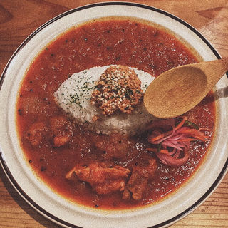 三種の鶏のチキンカレー(spiceスエヒロ (スパイススエヒロ))