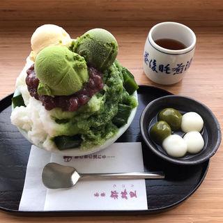 特選都路里氷(茶寮都路里 大丸東京店 (さりょうつじり))