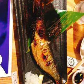若さばの塩焼き(魚の上よし 京橋店 (うえよし))
