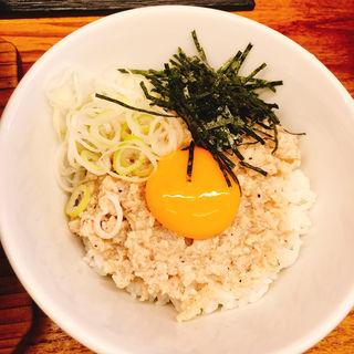 鶏塩丼(麺や 鳥の鶏次 )